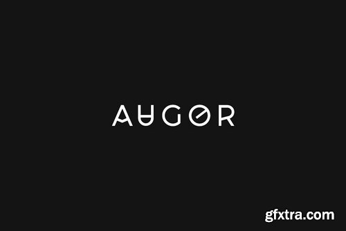 CM - AUGOR - Unique Display Logo Typeface 4020301