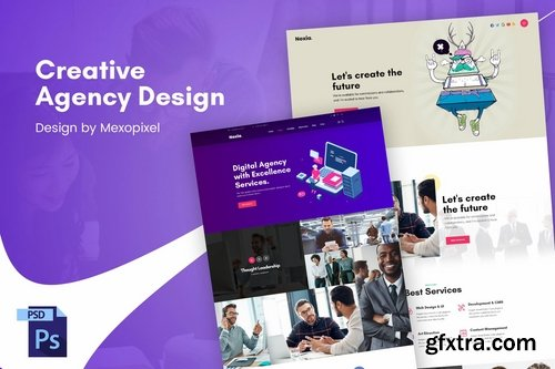 Creative Business Agency PSD Template