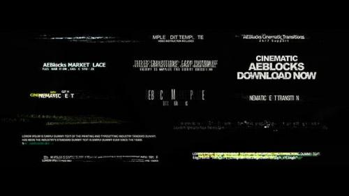 Udemy - Cinematic Glitch Titles 2