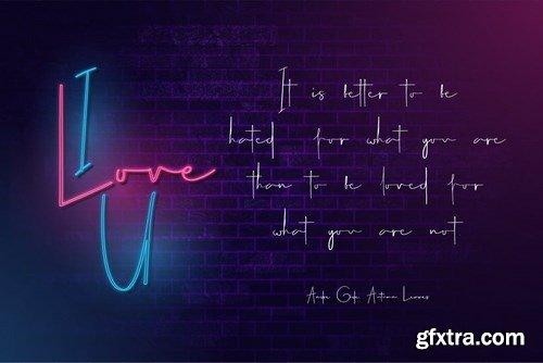 Carlantans - Elegant Signature Font