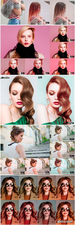 14 Blonde Hair Desktop Lightroom Presets 1700938