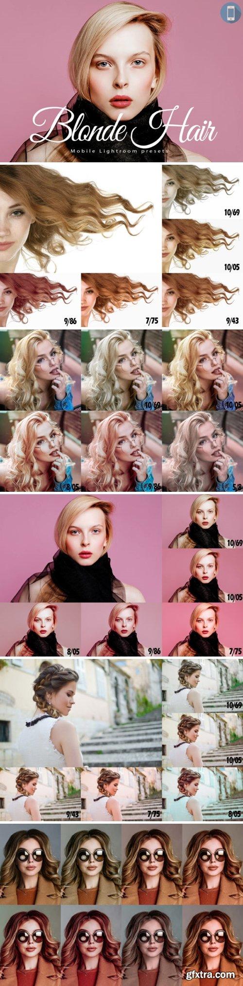 14 Blonde Hair Mobile Lightroom Presets 1700912