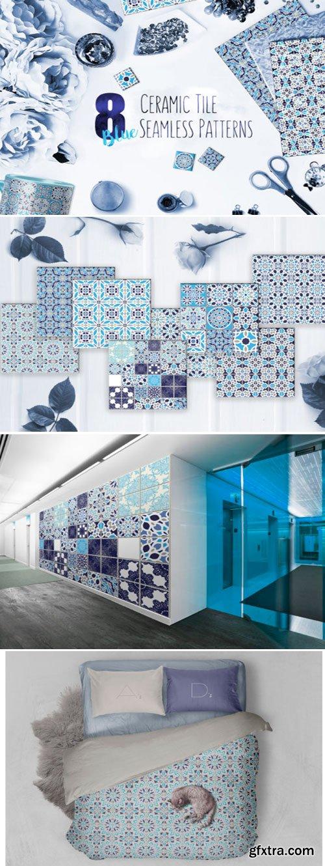 Ceramic Tile Seamless Patterns 1701588