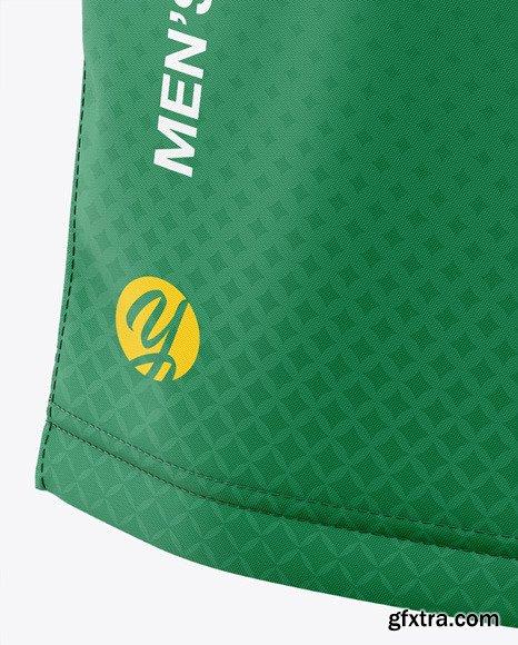 Men\'s Soccer Shorts Mockup - Back View 47552