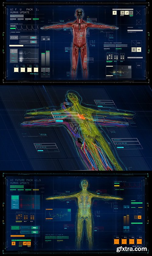 Videohive - UI FUTURE PACK V1.5/ Monthly FREE HUD Update/ Call-Outs/ Transitions/ Glitch/ Interface V.1.5 - 9296416