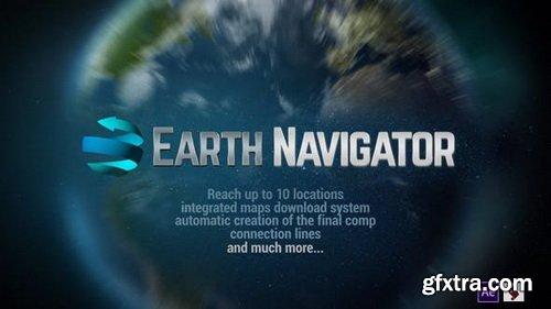 Videohive - Earth Navigator - 21407246