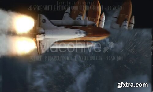 Videohive - Space Shuttle - 16661440