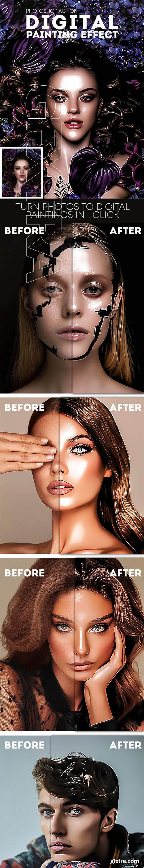 GraphicRiver - Digital Painting Effect 24207105