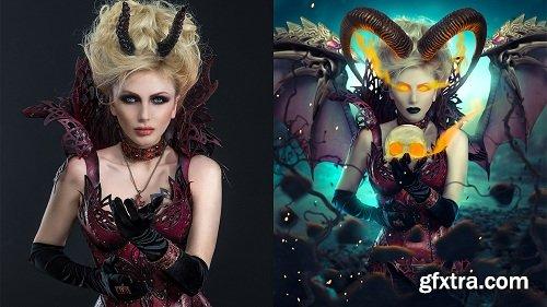 The Sucubus - Advanced Photoshop Manipulation