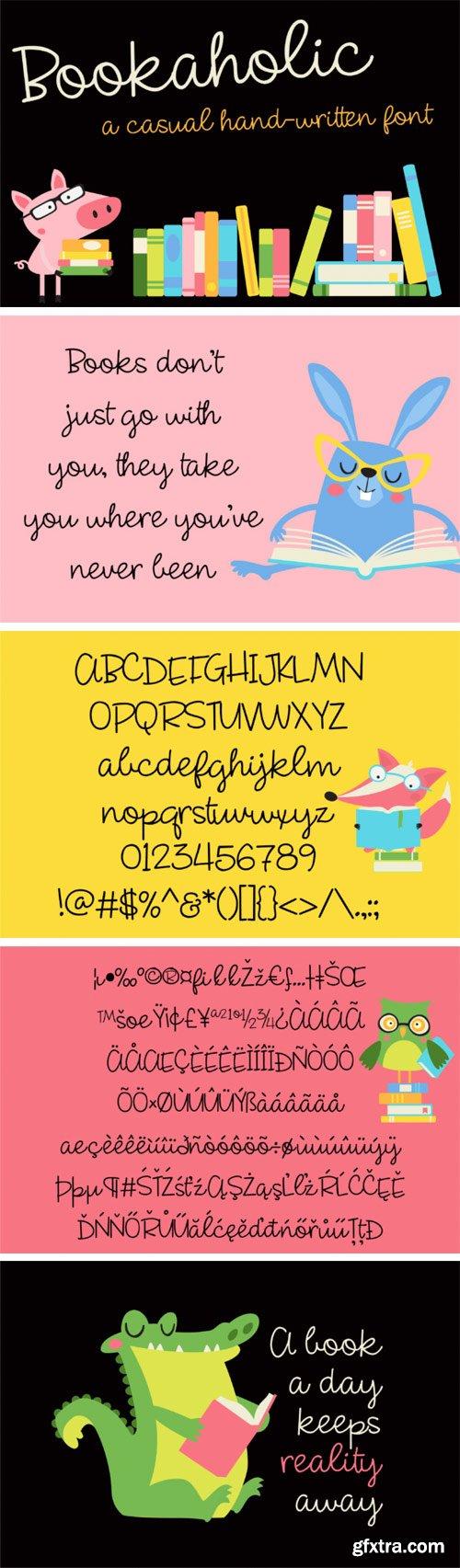 ZP Bookaholic Font