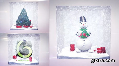 VideoHive Christmas Logo Intro 2in1 9471365