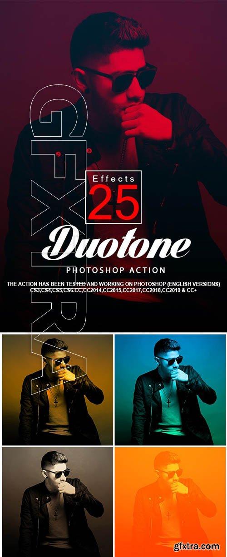GraphicRiver - 25 Duotone Photoshop Actions 24292183