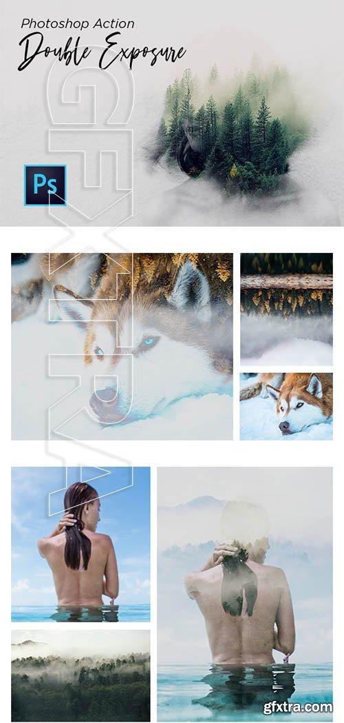 GraphicRiver - Double Exposure Action Photoshop 24273778