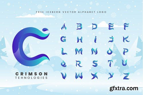 Iceberg - Cold Unique Display Typeface