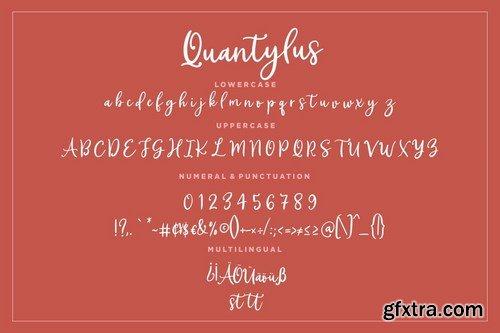 Quantylus Calligraphy Signature