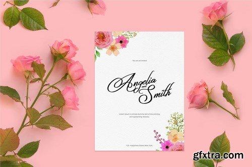 Hanfala | Elegant Script Font