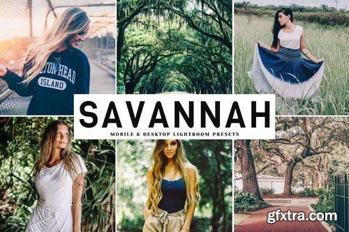 Savannah Mobile & Desktop Lightroom Presets