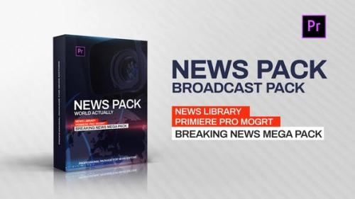 Udemy - News Library - Broadcast Pack