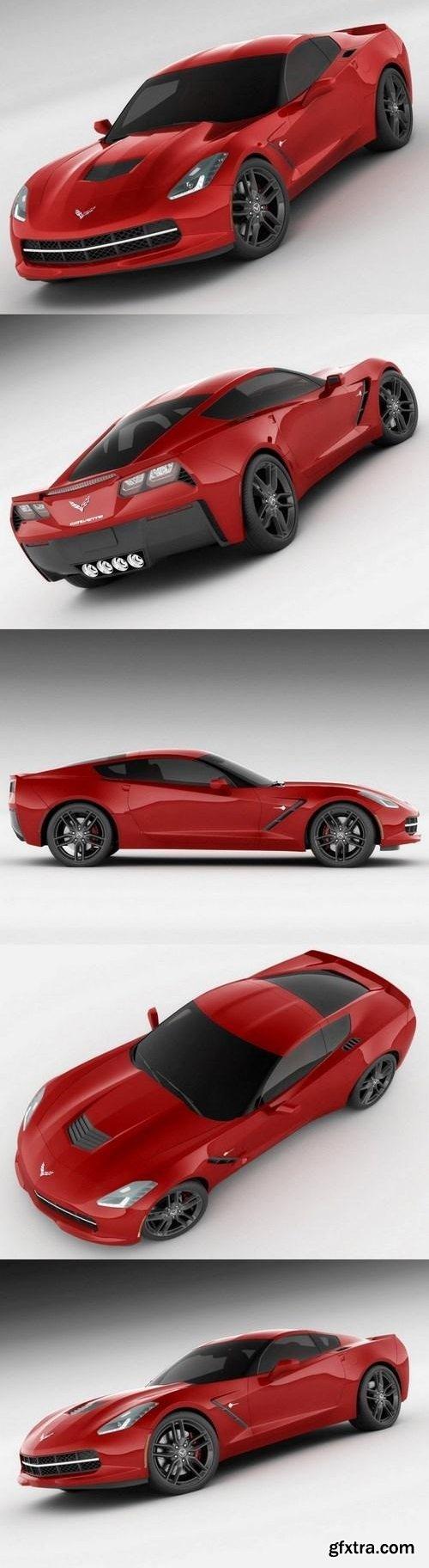 Chevrolet Corvette C7 Stingray 3D Model