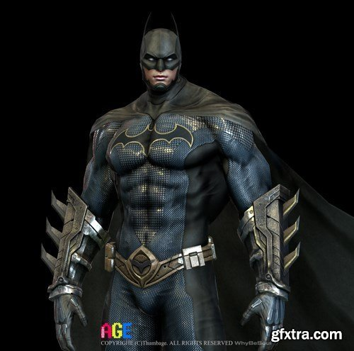 Batman 3D Model #2