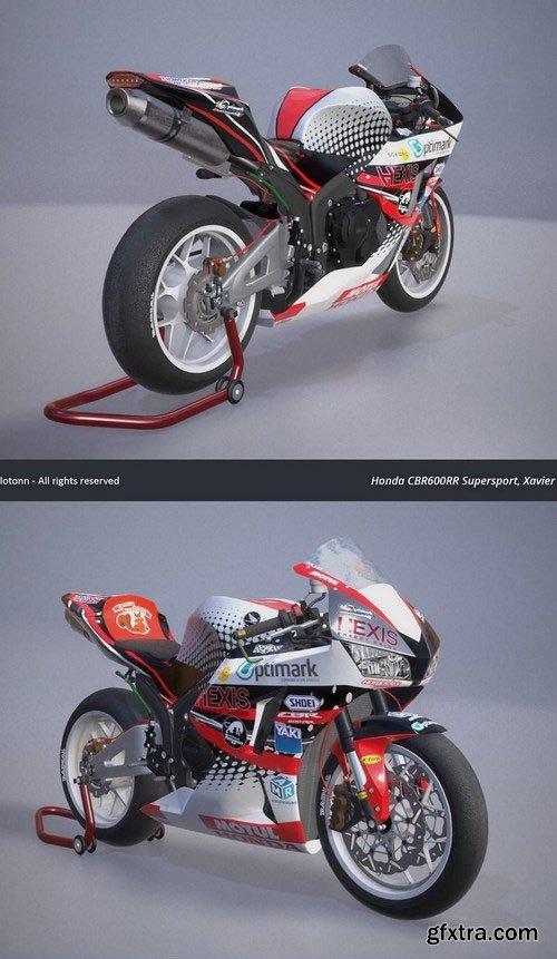 TT Isle of Man Honda CBR 600 RR – 3D