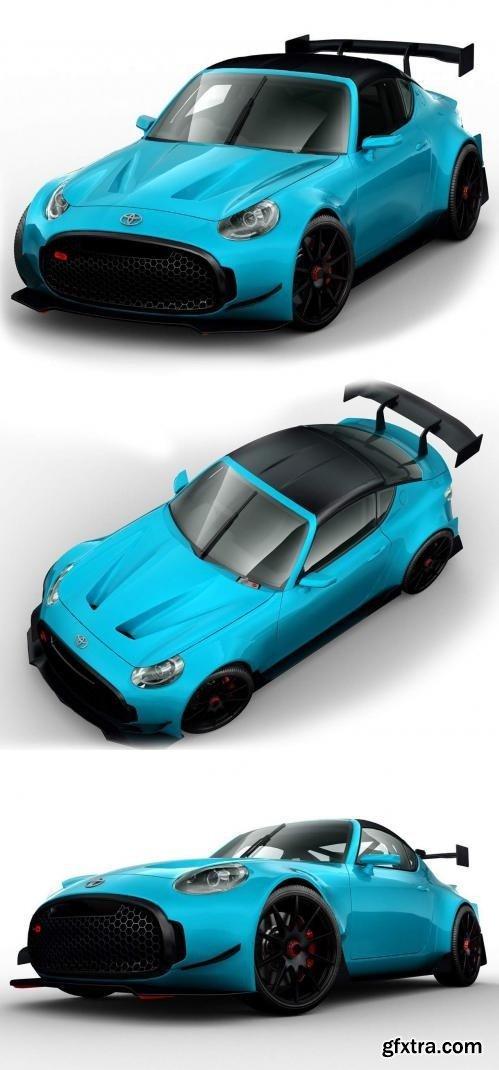 Toyota S-FR Racing Concept 2016 - 3D Model
