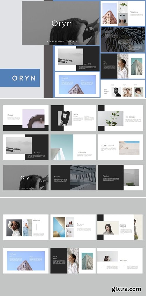 Oryn Powerpoint, Keynote and Google Slides Templates