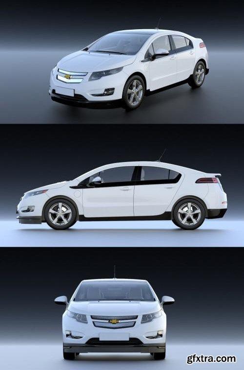 Chevrolet Volt 2010 - 3D Model