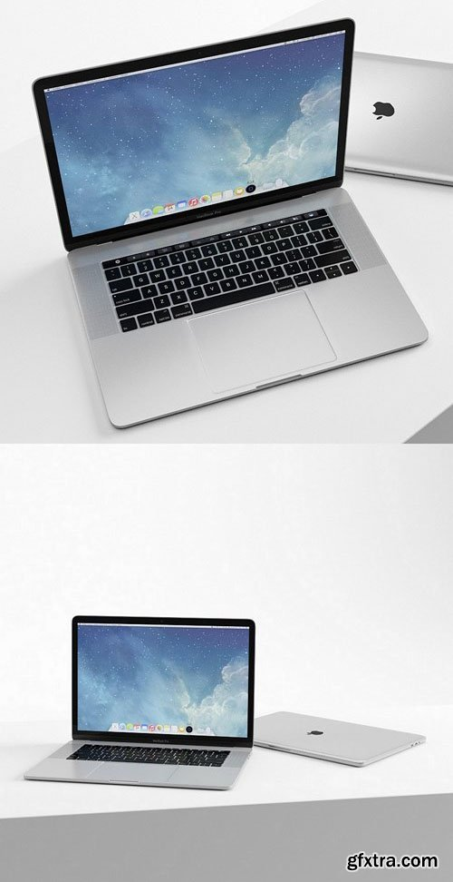Macbook – 3D Model