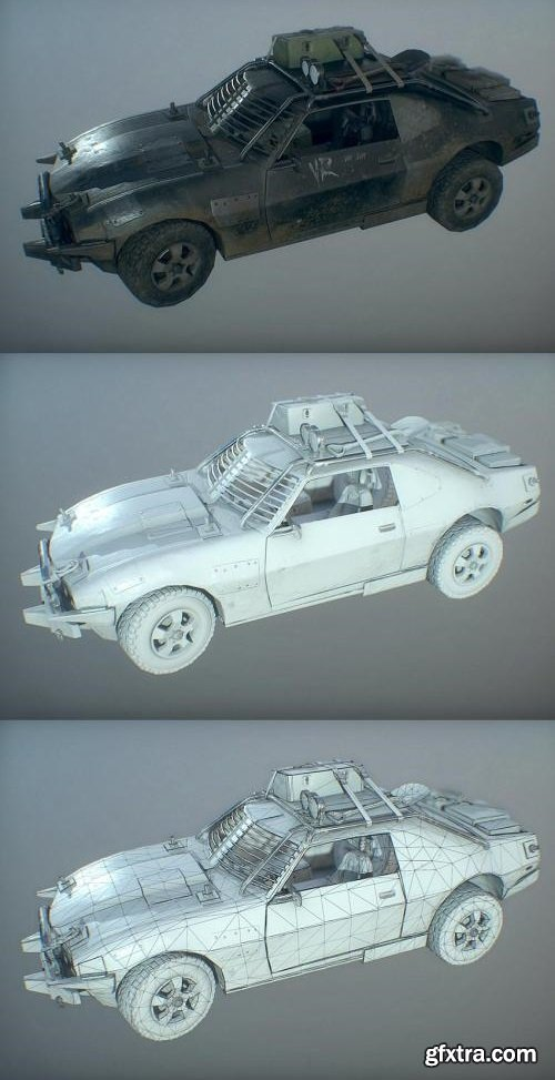 MAD MAX FANART CONCEPT INTERCEPTOR