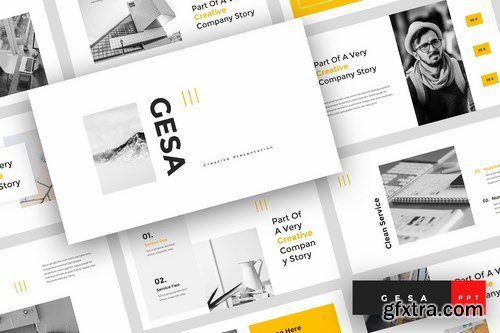 Gesa - Powerpoint Google Slides and Keynote Templates