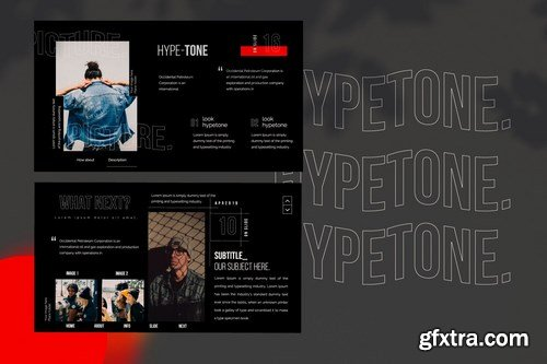 Hypetone - Powerpoint Google Slides and Keynote Templates