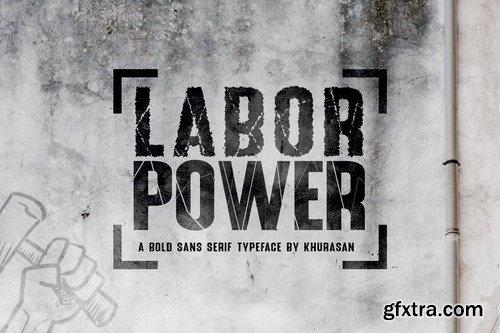Labor Power Font