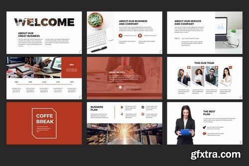 Business Keynote Presentation Template