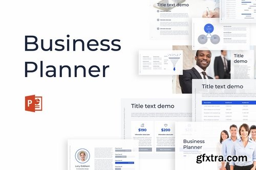 Business Planner - Powerpoint Google Slides and Keynote Templates
