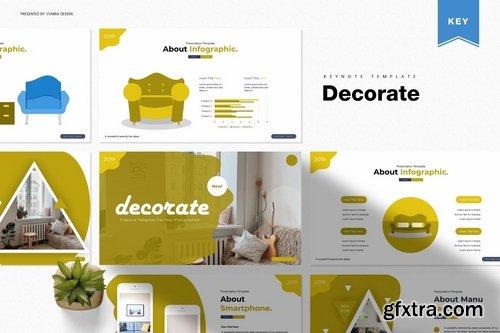 Decorate Keynote Template