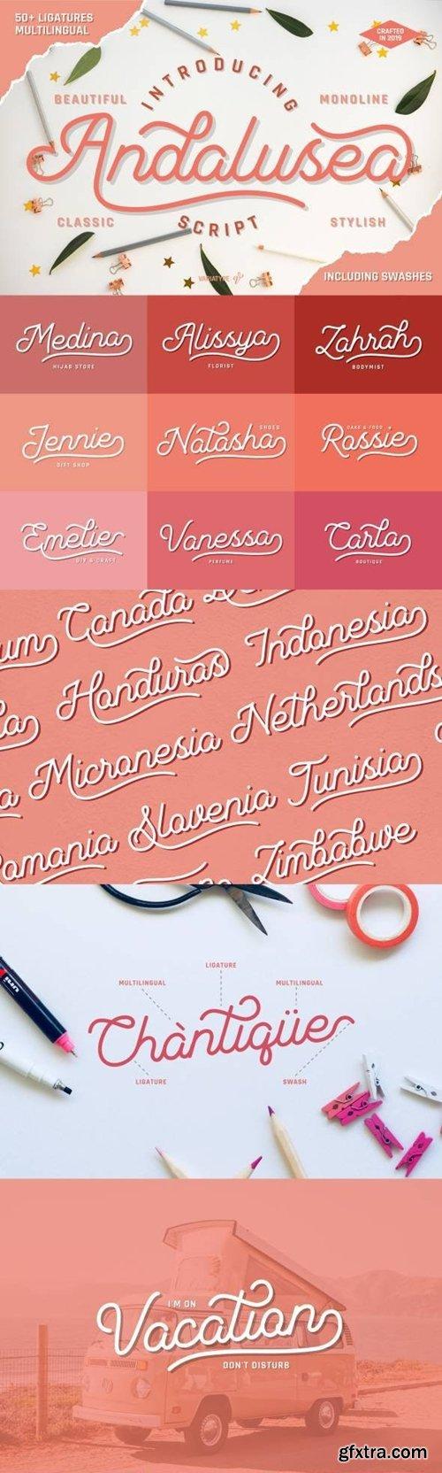 GraphicRiver - Andalusea Script 24375430