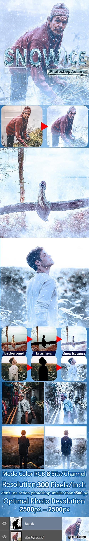 GraphicRiver - Snow Ice Photoshop Action 24254403