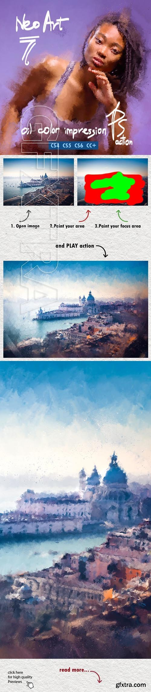 GraphicRiver - NEOart 7 Oil Paint Impression Advanced 24233039