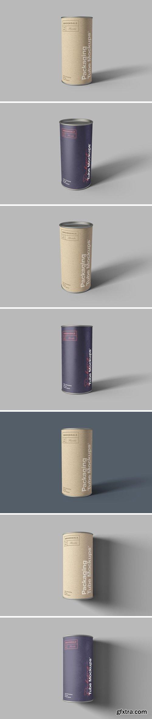 Packaging Tube Mockups