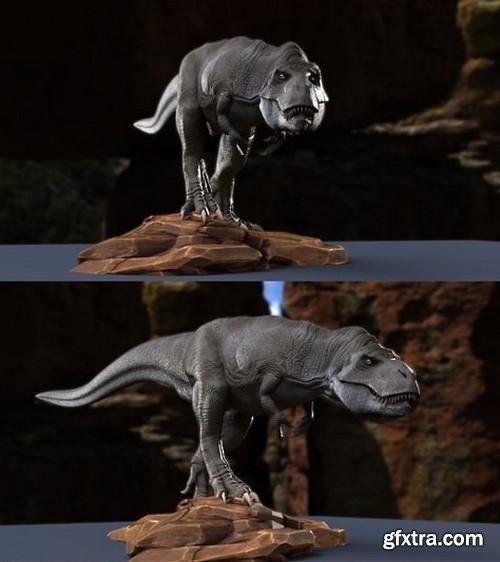 T.rex 3D Model