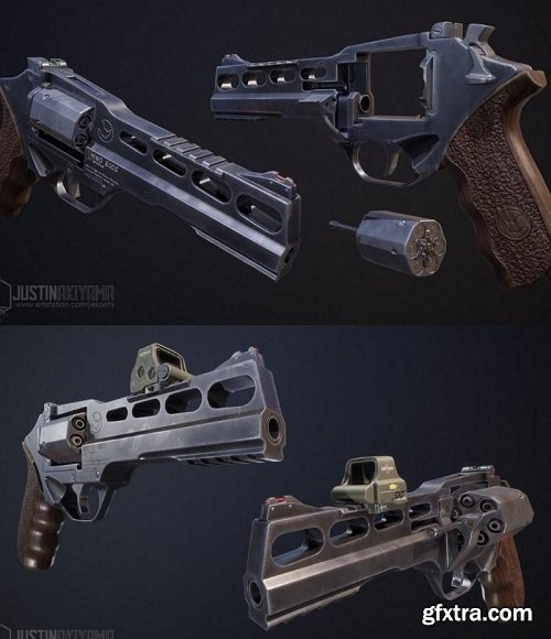 Chiappa Rhino Revolver 3D Model