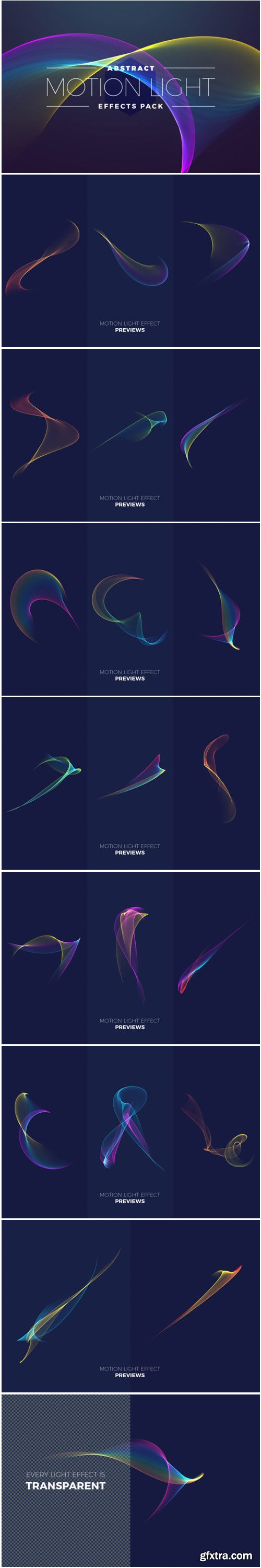 Abstract Motion Light Effects Pack 1705576