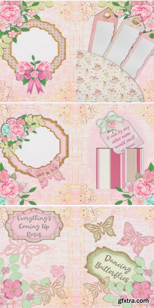 Raspberry Sorbet Mega Craft Bundle 1705613