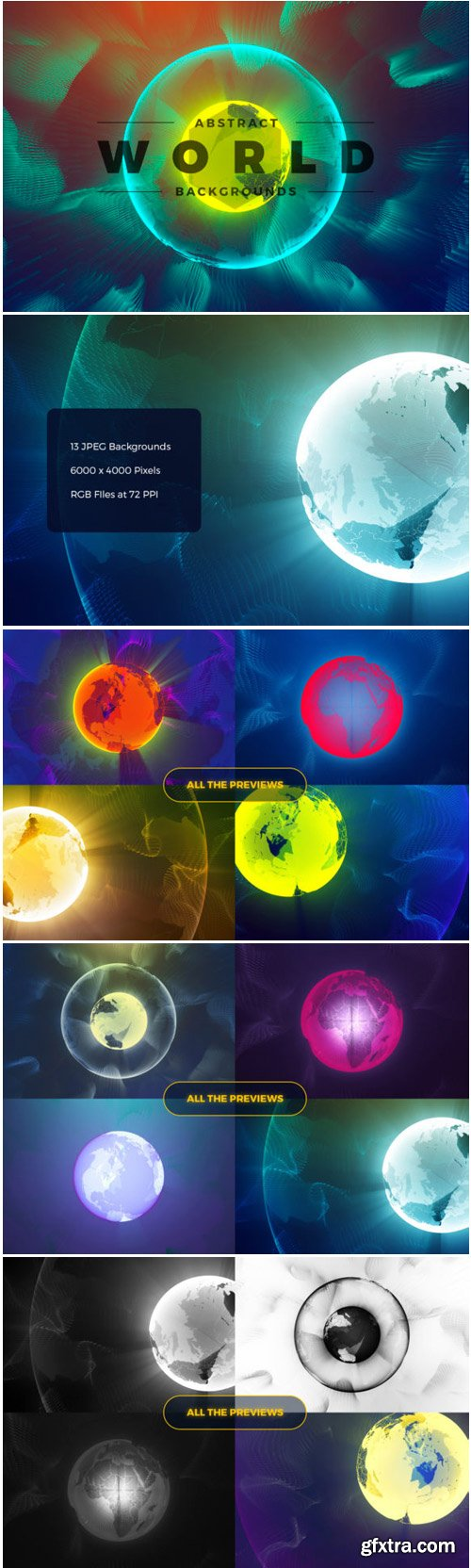 Abstract World & Particles Backgrounds 1705647
