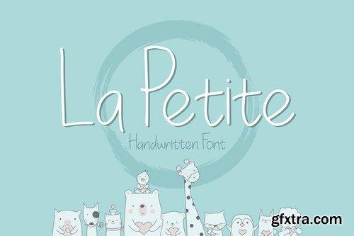 CM - La Petite Handwritten Font 4032542