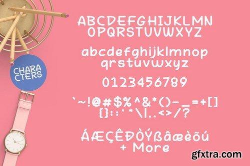 Hey Fun Font