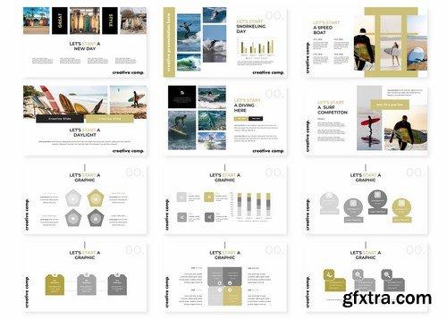Surfingan - Powerpoint Google Slides and Keynote Templates