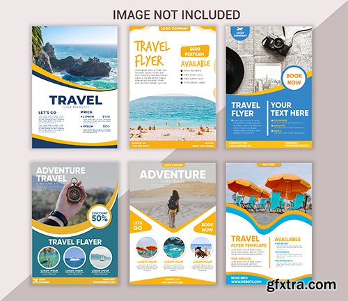 Collection of Travel Flyer Template