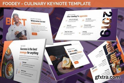 Foodey - Culinary Keynote Template